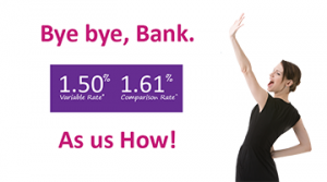 1.5% Home Loan from Bank
