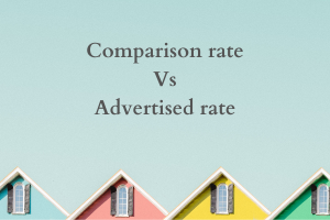 Comparison rate vs Advertised rate